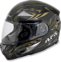 AFX FX-90 Dare Gold Full Face Helmet