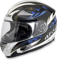AFX FX-90 Dare Blue Full Face Helmet