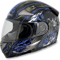 AFX FX-90 Shade Blue Full Face Helmet
