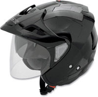 AFX FX-50 Black Open Face Helmet
