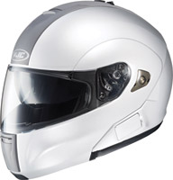 HJC IS-Max BT White Modular Helmet