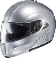 HJC IS-Max BT Silver Metallic Modular Helmet