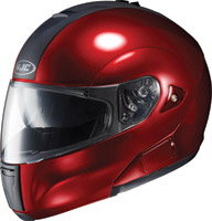 HJC IS-Max BT Wine Metallic Modular Helmet