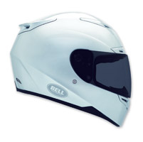 Bell RS-1 Silver Full Face Helmet