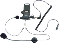 Sena Technologies SMH10 Helmet Clamp Kit, Earbuds w/Attachable Boom and Wired Mic