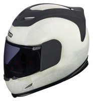 ICON Airframe Construct Naked Finish Full Face Helmet