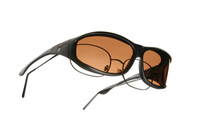 Vistana Soft Touch Black Frame Sunglasses