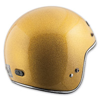 Speed and Strength SS600 Speed Metal Gold Helmet