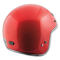 Speed and Strength SS600 Speed Metal Red Helmet