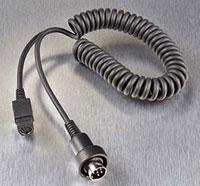 J&M Helmet Headset 6-Pin Audio System Hook-Up Cord