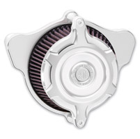 Roland Sands Design Blunt Split Chrome Air Cleaner Kit - TBW Models