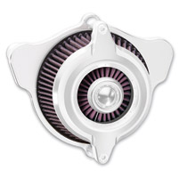 Roland Sands Design Blunt Power Chrome Air Cleaner Kit