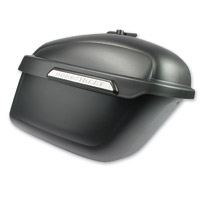 Hardstreet Sixer Satin Black Saddlebag