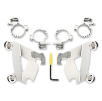 Memphis Shades Cafe Fairing Polished Trigger-Lock Mount Kit