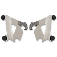 Memphis Shades Cafe Fairing Polished Plate-Only Mount Kit