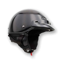 Zox Banos Gloss Black Half Helmet
