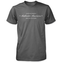 Speed and Strength Authentic American Men's T-shirt