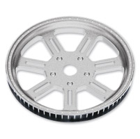 Roland Sands Design Del Mar Machine Ops 66T Forged Aluminum Pulley