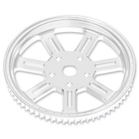 Roland Sands Design Del Mar Chrome 66T Forged Aluminum Pulley