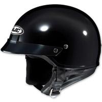 HJC CS-2N Black Half Helmet