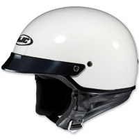 HJC CS-2N White Half-Helmet
