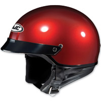 HJC CS-2N Metallic Wineberry Half Helmet