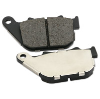 J&P Cycles® Organic Rear Disc Brake Pads