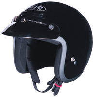 Z1R Jimmy Black Open Face Helmet