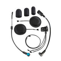 J&M Performance Series Headset with High-Output AeroMike III for Moduler Helmet