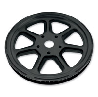 Roland Sands Design Morris Black Ops 66T Forged Aluminum Pulley