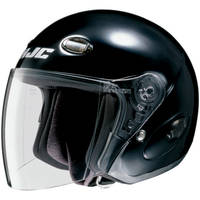 HJC CL-33 Black Open Face Helmet