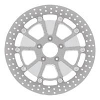 Roland Sands Design Raid Machine Ops Two-Piece Front Brake Rotor, 11.5