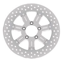 Roland Sands Design Del Mar Machine Ops Two-Piece Rear Brake Rotor, 11.5