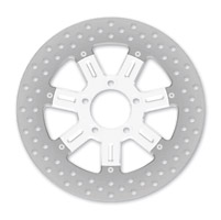Roland Sands Design Del Mar Chrome Two-Piece Front Brake Rotor, 11.8