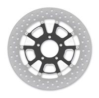 Roland Sands Design Raid Machine Ops Two-Piece Front Brake Rotor, 11.8