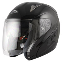 Zox Etna SVS Black Open Face Helmet
