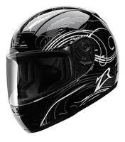 Z1R Phantom Monsoon Black Full Face Helmet