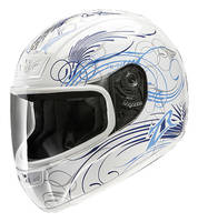 Z1R Phantom Monsoon White Full Face Helmet