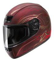 Z1R Phantom Monsoon Wine Full Face Helmet
