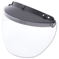 MXL Industries Hydron Clear Fog Free Flip Shield