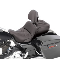 Saddlemen Explorer G-Tech Low-Profile Seat with Backrest