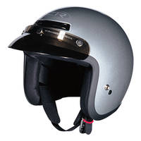 Z1R Jimmy Silver Open Face Helmet