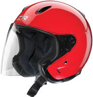 Z1R Ace Red Open Face Helmet