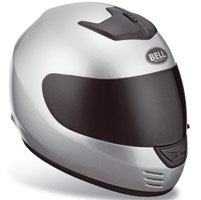 Bell Arrow Metallic Silver Full Face Helmet