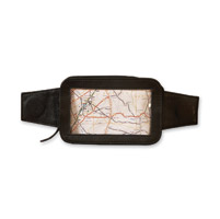 Daytona Gear Leather Cell/GPS Tank Bag