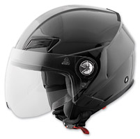 Speed and Strength SS650 Solid Speed Gloss Black Open Face Helmet