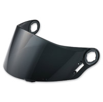 LS2 Dark Smoke Outer Visor for FF385/387/392/396 Helmets
