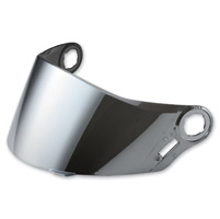LS2 Chrome Outer Visor for FF385/387/392/396 Helmets