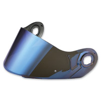 LS2 Blue Mirror Outer Visor for FF386/394