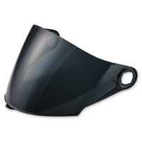 LS2 Dark Smoke Outer Visor for OF569